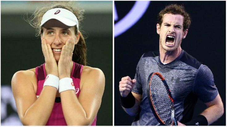 Andy Murray joins Johanna Konta in Australian Open...: Andy Murray joins Johanna Konta in Australian Open quarter-finals… #AndyMurray