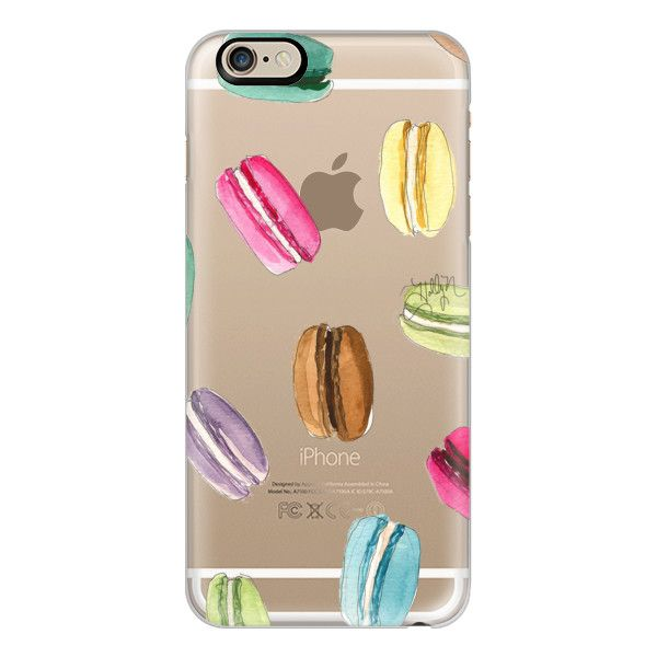 iPhone 6 Plus/6/5/5s/5c Case - Macaron Shuffle (Transparent) ($40) ❤ liked on Polyvore featuring accessories, tech accessories, phone, phone cases, capas de iphone, celular, iphone case, iphone 5 cover case, apple iphone cases and iphone 6 case