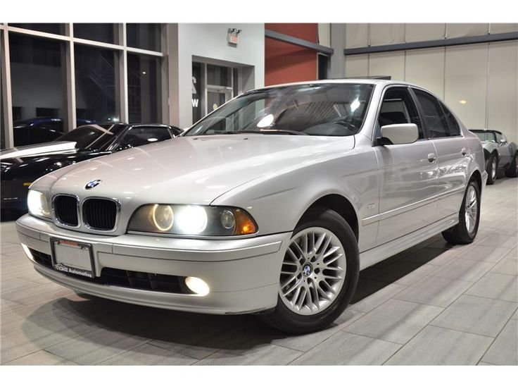 2003 BMW 530 iA Last Year Production (E39) Premium Winter PKG! http://crsautomotive.com/listings/2003-bmw-530-ia-last-year-production-e39-premium-winter-pkg/
