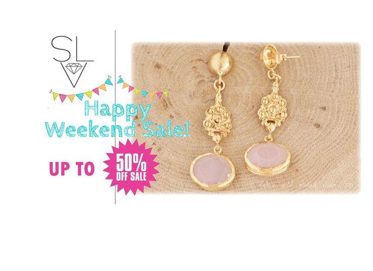 Καλό Σαββατοκύριακο και καλό SteLoV shopping therapy!!! Εκπτώσεις έως 50%!!! Προλάβετε έως 20/3 (11πμ) #stelov #slv #weekendsale #upto50 #jewelry #accessories #shoponline #worldwideshipping