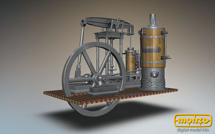 Beam engine is a type of steam engine where a pivoted overhead beam is used to apply the force from a vertical piston to a vertical connection rod. Invented by Thomas Newcomen and improved by James Watt! #Monzo #Watt #BeamEngine
