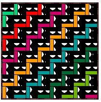 The Many Looks of Rail Fence quilts - an easy block for beginning quilters