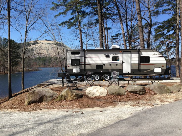 We are a family owned and operated RV park located in Stone Mountain, Georgia. We are open year round and offer daily, weekly and monthly rates. We are located 1/4 mile from Stone Mountain State Park at Highway 78 (Stone Mountain Highway). We are right outside of I so we are only minutes from any Atlanta Area destination!