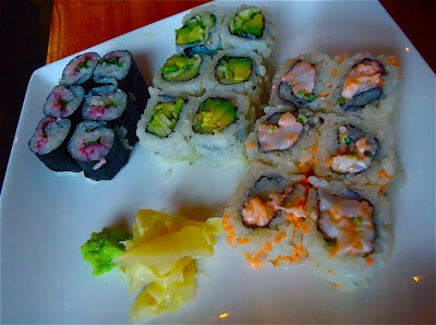 rowhouse HOME: dining out: kushi | best sushi i've had in d.c.: Kushi, Sushi, Dining, Rowhous, Places, I'M, Homes, D C