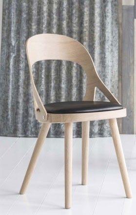 Colibri stol blond sits läder