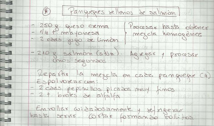 PANQUEQUES RELLENOS DE SALMON   #SALADO #ENTRADAS #PANQUEQUE #PESCADO