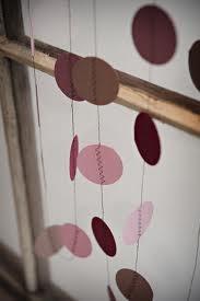 Circle garlands - paper or fabricCircles Garlands