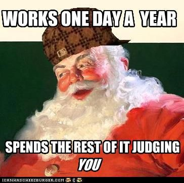 Santa Clause, @Deirdre Collins' dream job