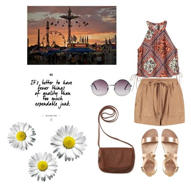 """""""A day in the carnival"""" by chrysapan on Polyvore featuring Boohoo, H&M, Aéropostale and Monki"""
