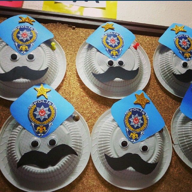 The 25 Best Police Crafts Ideas On Pinterest Community