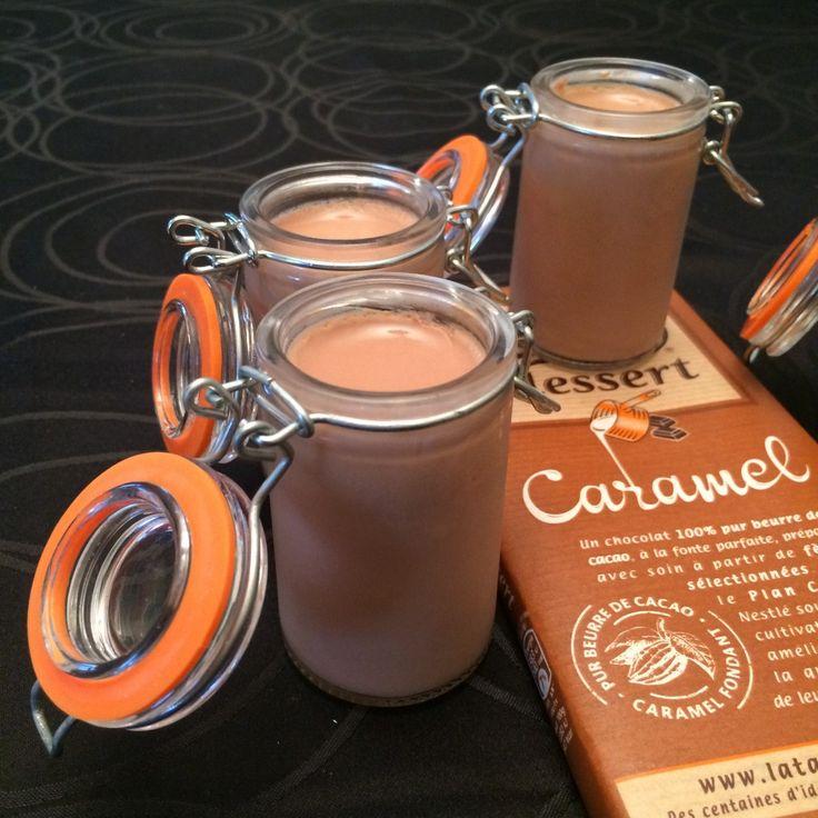 Panna cotta chocolat-caramel Ingrédients:
