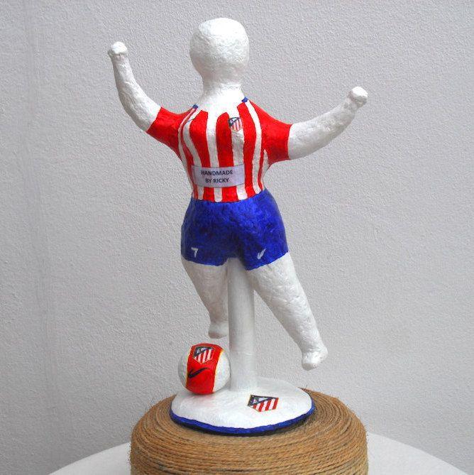 NANA de de futbol del Atletico Madrid de RickyArte en Etsy