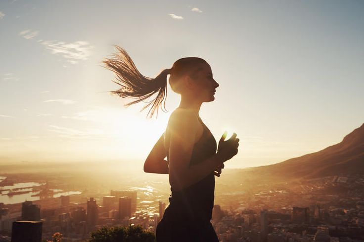 woman experiencing running motivation