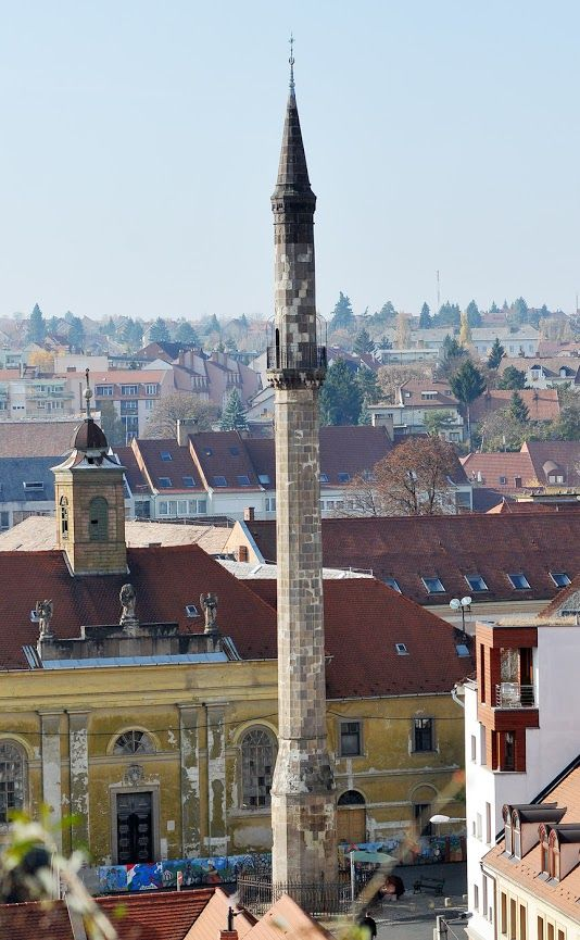 City Panorama in the Northern town of Eger, can you spot the Turkish influence?