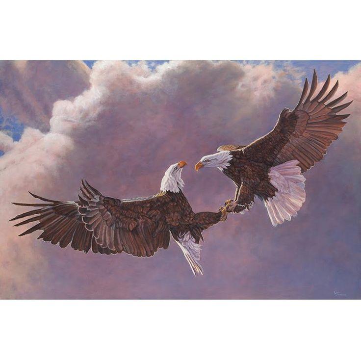 Eagle Print | Clash Of The Titans | Gary Johnson
