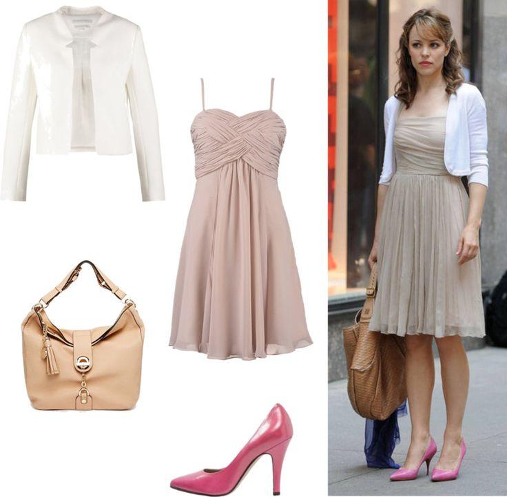 styl romantyczny 2 - zwiewna romantyczna sukienka