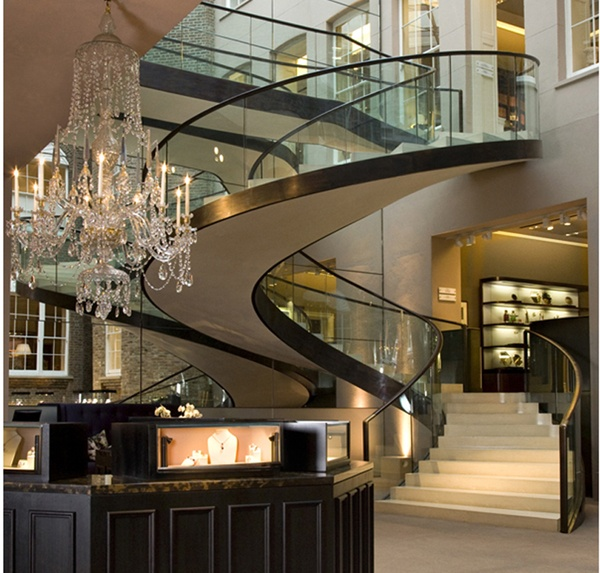Best 32 Best Luxurious Stairs Images On Pinterest Banisters 400 x 300