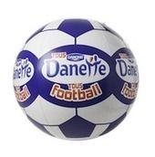 Ballon de Foot géant Danette - PLV Gonflable par EXOCOM - Diamètre 90 cm