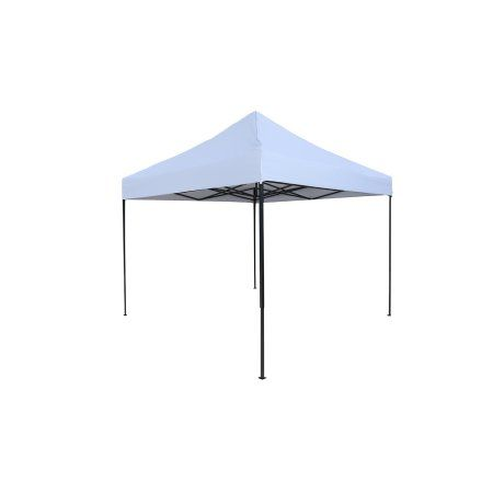 Lightweight & Portable Canopy Tent Set - 10' x 10' - By Trademark Innovations (Black Canopy Cover) Image 1 of 3