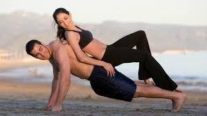 Resultado de imagem para casal fitness desenho
