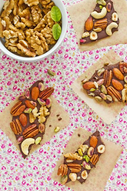 Sips and Spoonfuls: Chocolate and Nut Bark