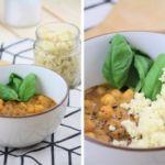 Couscous Curry Kichererbsen vegetarisch