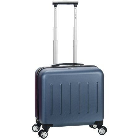 Rockland Pelican Hill Rolling Laptop Case, Blue