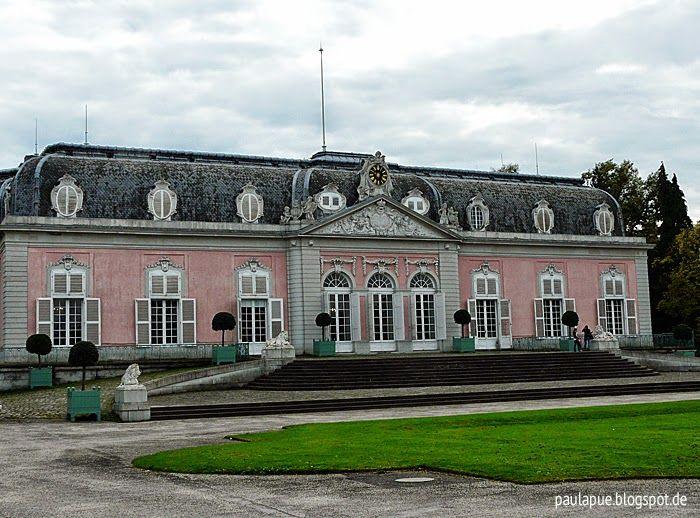 paulapü: Düsseldorf-Benrath in rosa und türkis