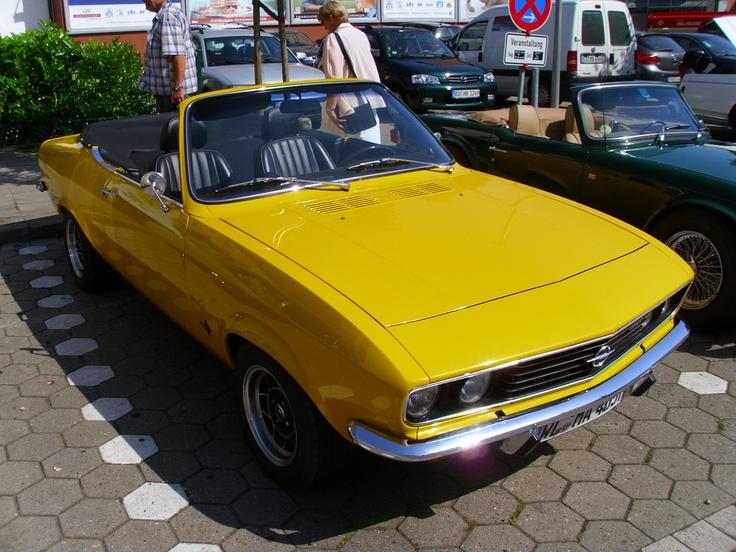 Opel Manta A Convertible