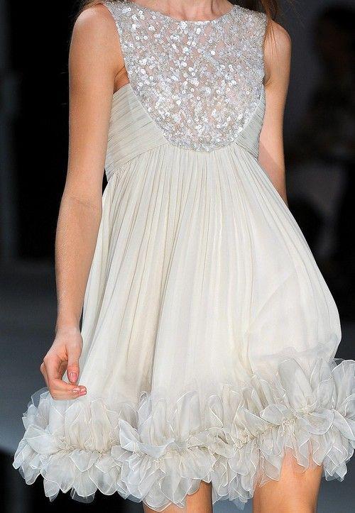 Elie SaabDresses Romp, Pretty Dresses, Fashion Couture, 245 Details, Elie Saab Spring, 10 Fashion, 2009 Details, F Dresses Skirts, Glamorous Chic Life