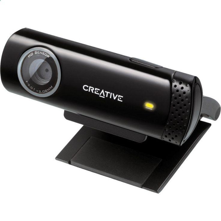 Live! Cam Chat HD De Live! Cam Chat HD van Creative is de eenvoudigste upgrade voor bellen in HD video - aansluiten en meteen chatten met een vloeiende opname en weergave van HD 720p video tot 30 beelden per seconde. De ingebouwde microfoon met ruisonderdrukking verwijdert achtergrondlawaai voor een heldere spraakweergave en met een enkele klik uw fotos en videos online op verschillende sociale mediasites. EUR 24.99 Meer informatie