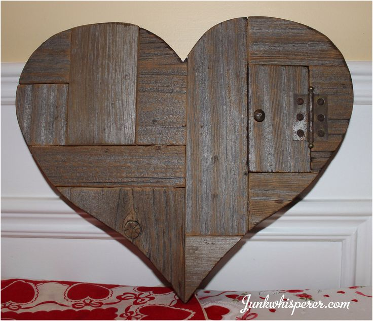 Reclaimed BarnWood Door Vintage Key Primitive Recycle Salvage Heart Valentine Wedding Gift Sweetheart Wall Art Decor by Junkwhisperer.com by JunkWhisperers on Etsy https://www.etsy.com/listing/494948194/reclaimed-barnwood-door-vintage-key