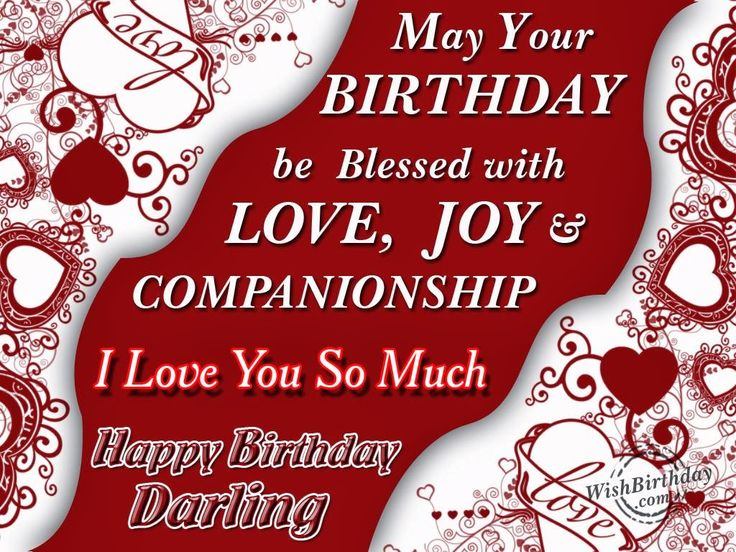 Happy Birthday to My Boyfriend Quotes – Birthday Love Greeting Cards