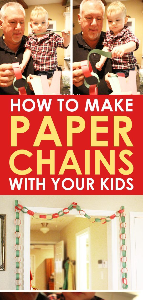 fun christmas craft for kids paper chains are a classic decoration learn how to make paper chains with kids and turn this simple craft into a fun activity