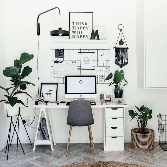 Super 10 weibliche Büros für diejenigen, die zu Hause arbeiten #work #buro …   – Zitate