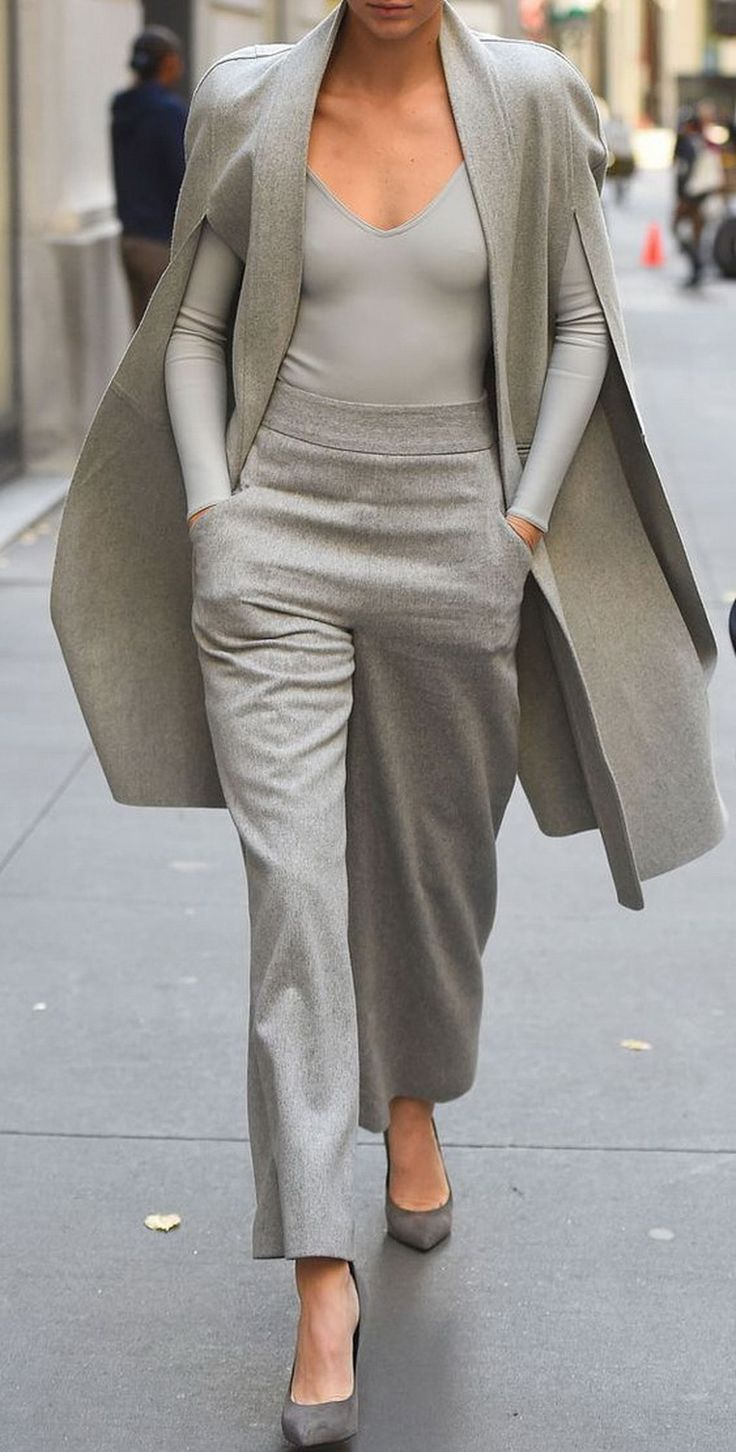Kendall Jenner-Grey Style