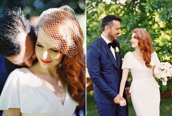 Ashleigh and Kristian's Stylish Melbourne Wedding. Hair styling and nails by MISS FOX www.missfox.com.au