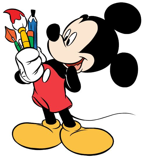 mickey mouse karate clipart - photo #12