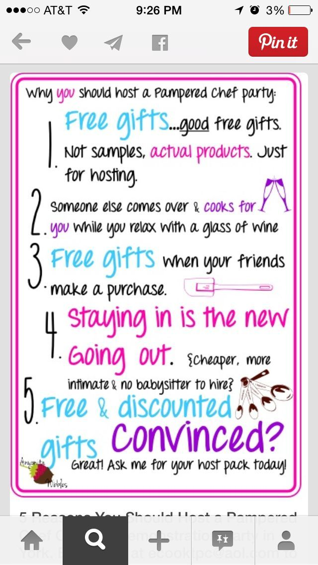 89 best pampered chef images on Pinterest | Jamberry consultant ...