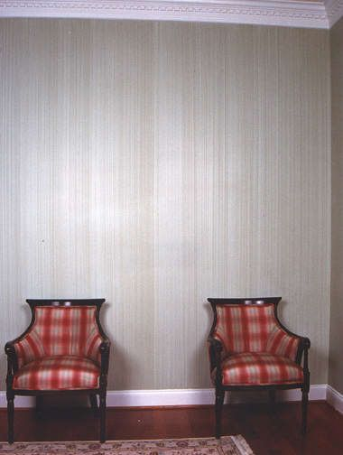 Faux Wallpaper Accent Wall