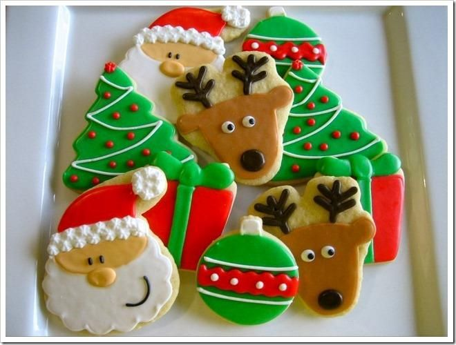 61 best Galletas navideñas images on Pinterest
