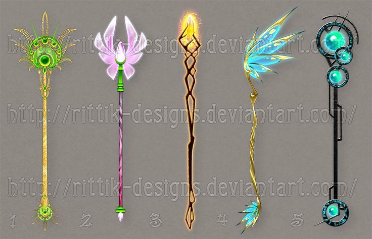 Staff designs 24 by Rittik-Designs on deviantART