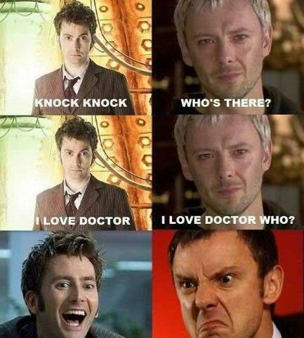 Doctor Who tricks the master