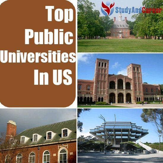 Top Public Universities in US
