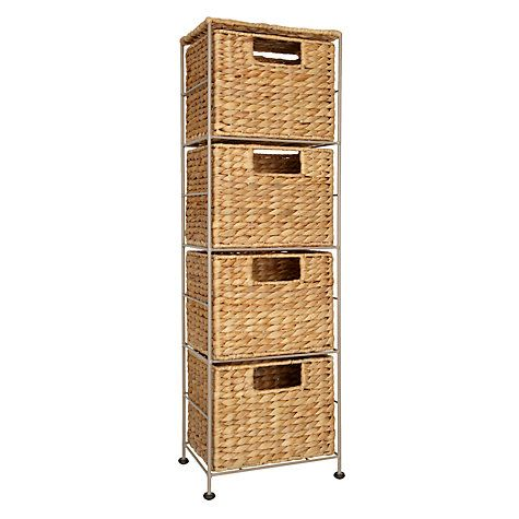 17 best ideas about 4 drawer storage unit on pinterest 4 for Bathroom storage ideas john lewis