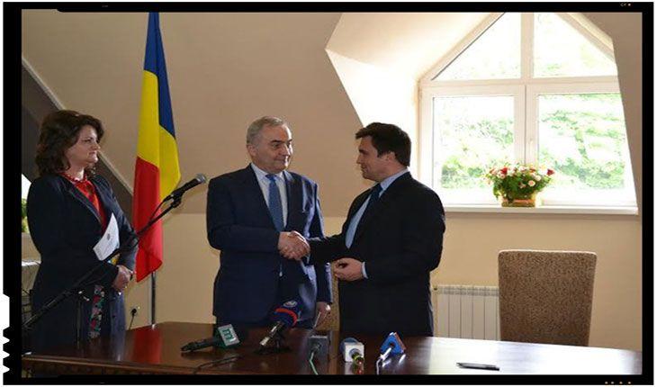 Ministrul afacerilor externe, Lazăr Comănescu, a inaugurat vineri, 6 mai 2016, Consulatul României de la Solotvino, cu prilejul vizitei efectuate în zona de frontieră România-Ucraina, la Sighetu Marmaţiei şi Solotvino/Slatina. Operaţionalizarea Consulatului României la Solotvino va contribui la consolidarea, în continuare, a relațiilor dintre România şi Ucraina şi la încurajarea contactelor dintre cetățenii de pe…