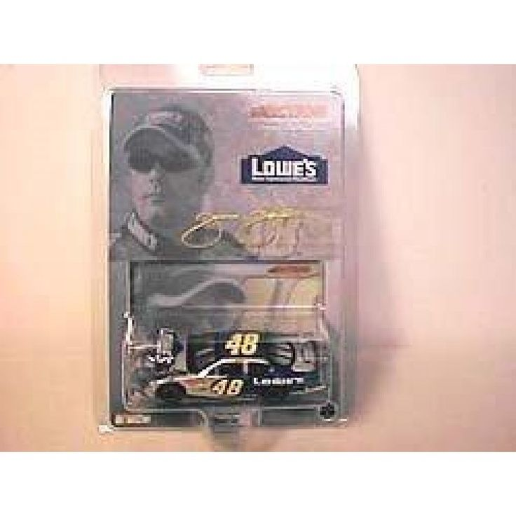 2003 Jimmie Johnson #48 Team Lowes Monte Carlo 1/64 Scale Diecast Hood Opens HO Limited Edition Action Racing Collectables ARC  2003 Jimmie Johnson #48 Team Lowes Monte Carlo 1/64 Scale Diecast Hood Opens HO Limited Edition Action Racing Collectables ARC *Hood Opens