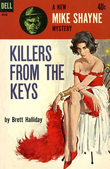 40 best brett halliday images on pinterest pulp art book covers june 1962 dell paperback reissue first printing cover art by robert mcginnis seattle mystery bookshop fandeluxe Image collections
