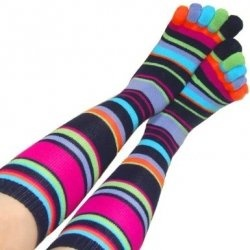 If you are looking for some fun, funky, crazy toe socks for women, then you've come to the right place. Socks with toes combine comfort and warmth...