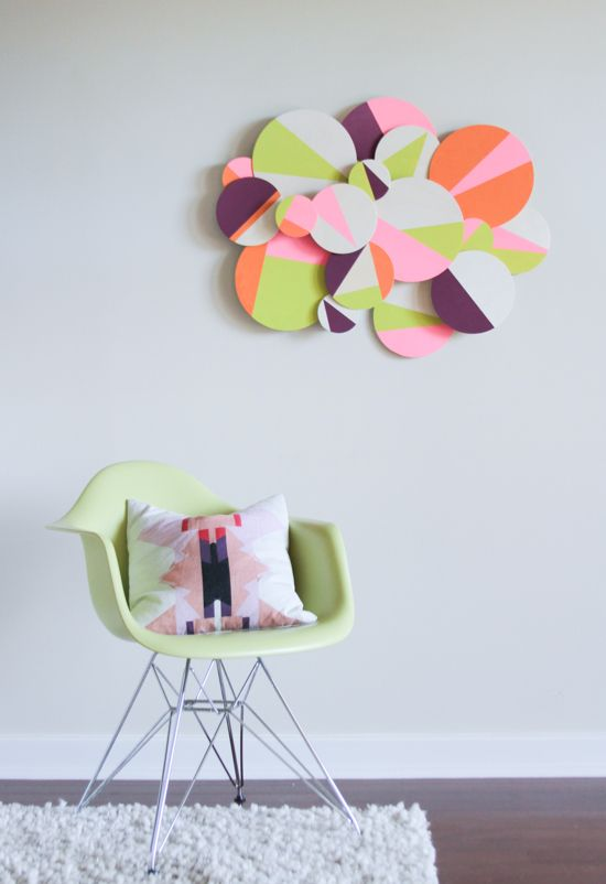 Make This: Wood Geo Cloud DIY - Paper and Stitch